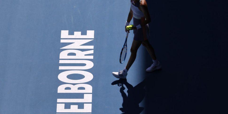 Australian Open preparations i...
