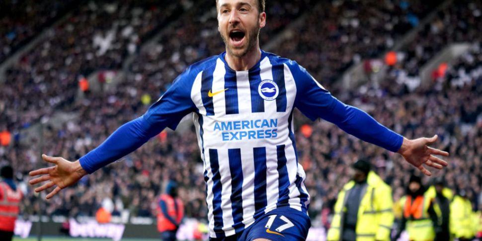 Brighton striker questions why...