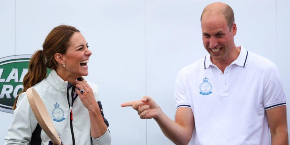 Britain's Prince William & Kat...