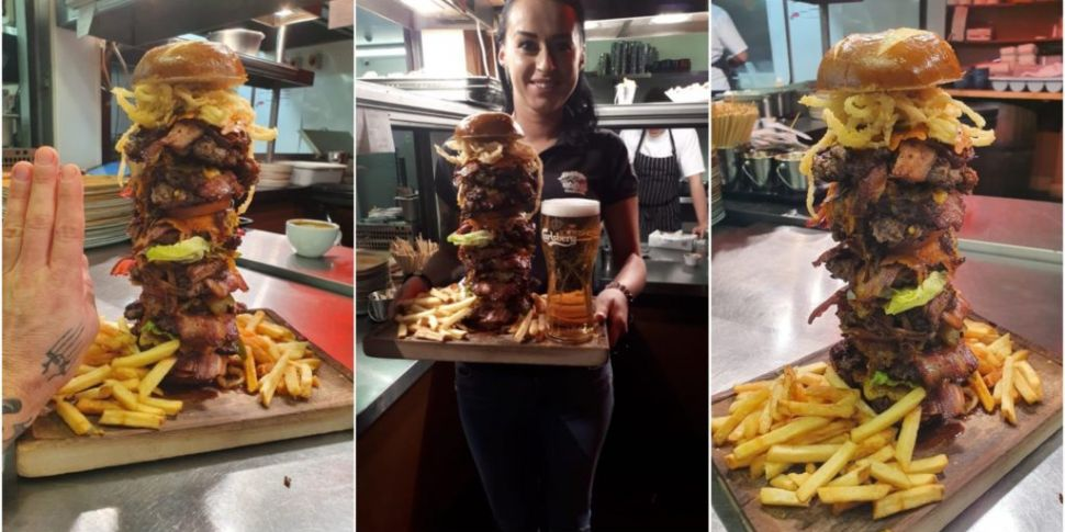 This New 'Beast Burger' Eating...