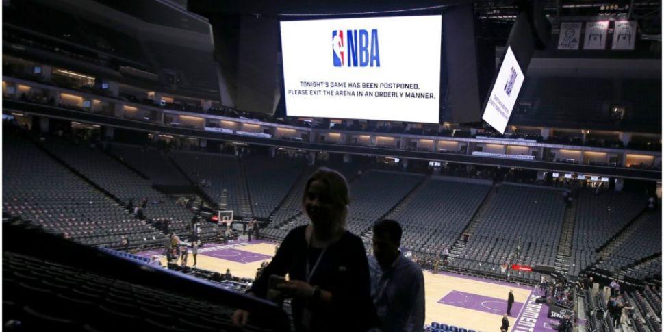 NBA season suspended over coro...