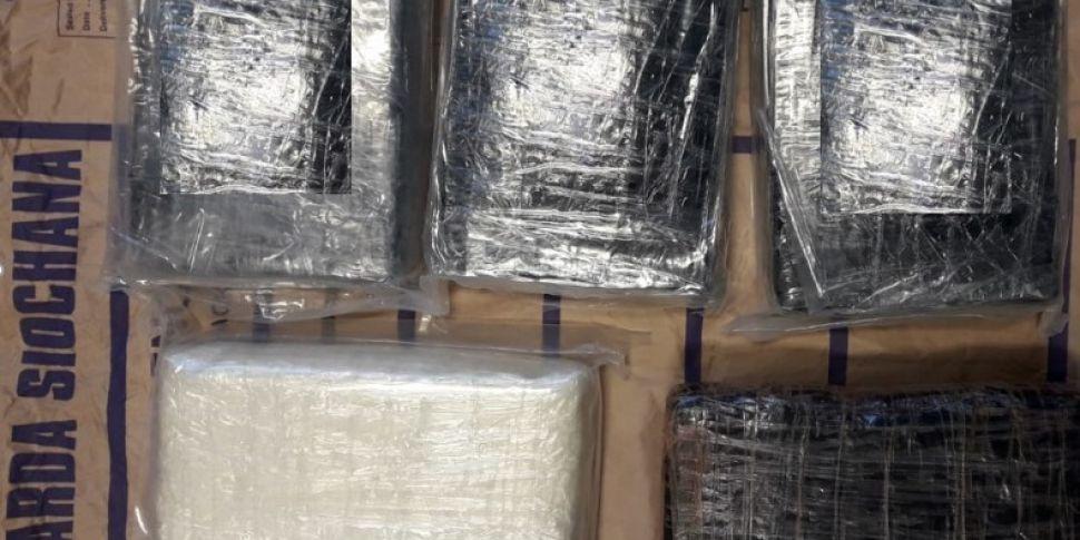 Gardaí Seize Cocaine Worth €35...
