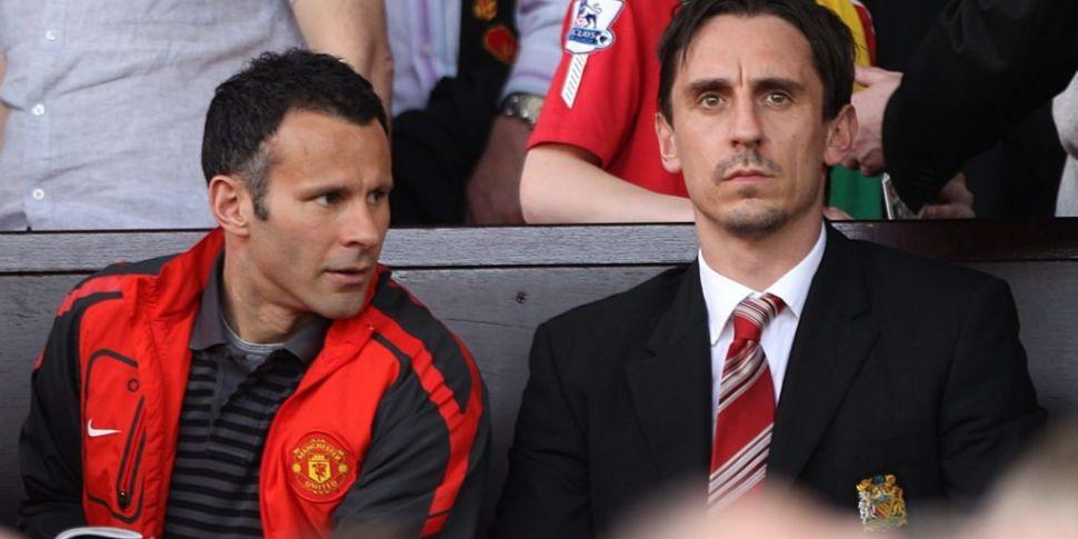 Manchester United legends open...