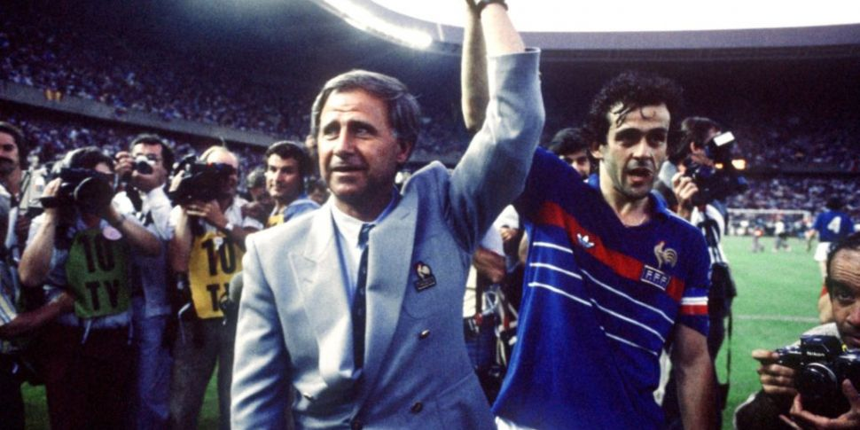 France's Euro 84 winning manag...