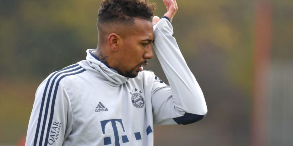 Bayern fine Jerome Boateng aft...