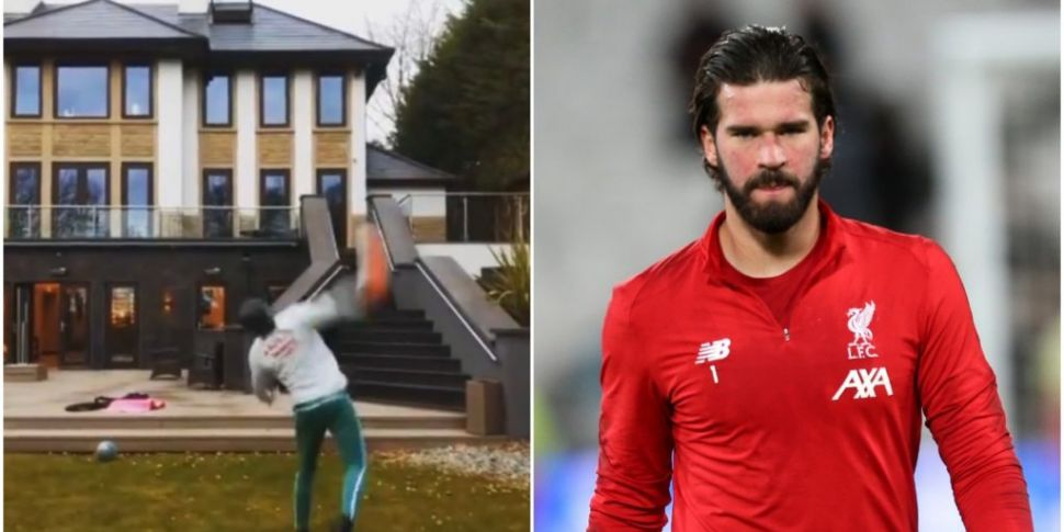 WATCH: Alisson Becker nails no...