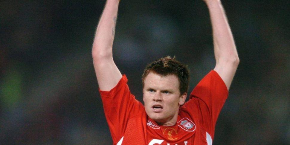 Former Liverpool defender John...