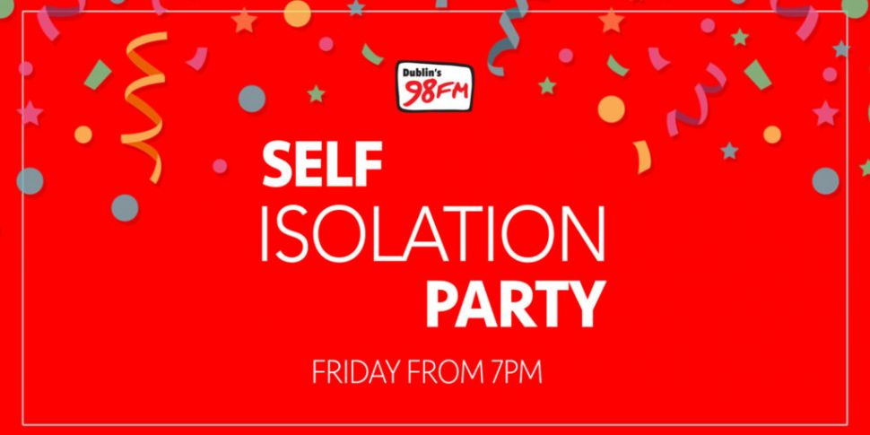 98FM Hosting A 'Self Isolation...