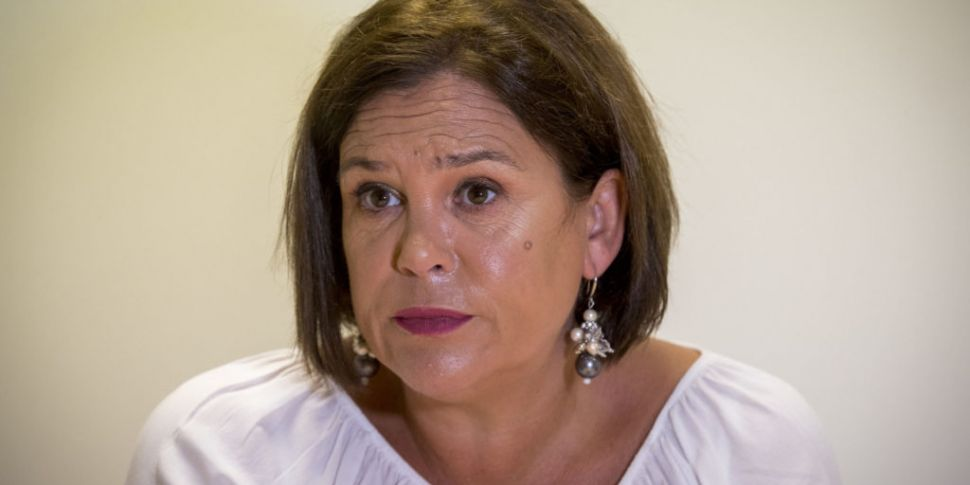 Mary Lou McDonald Calls For Po...