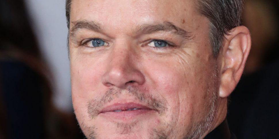 Matt Damon Talks Quarantining...