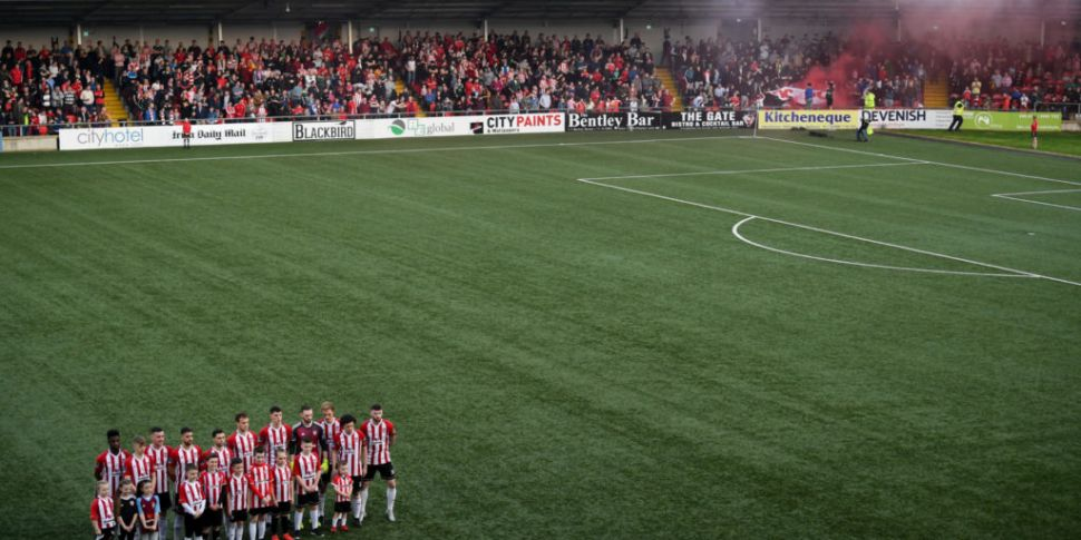 Derry City give their backing...