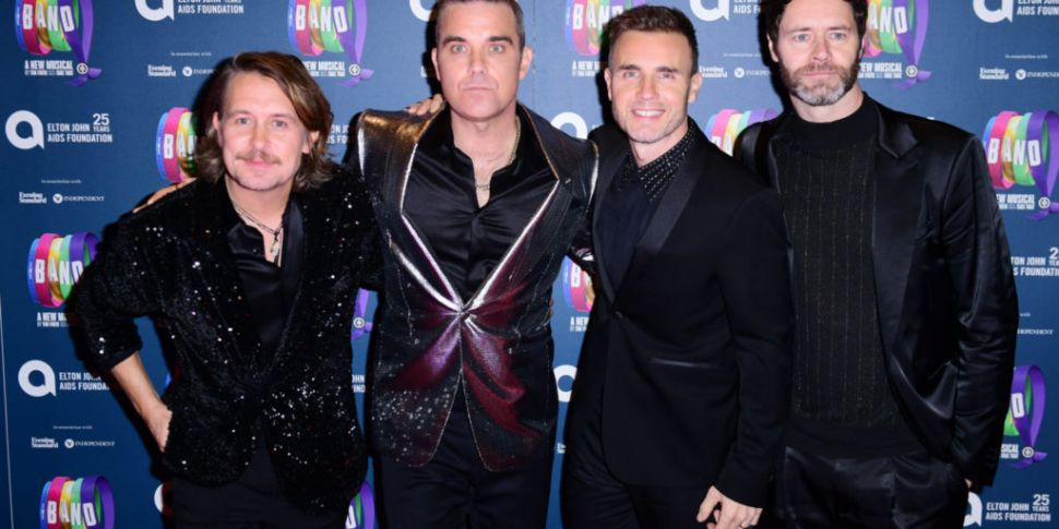 Take That Online Reunion Gig T...