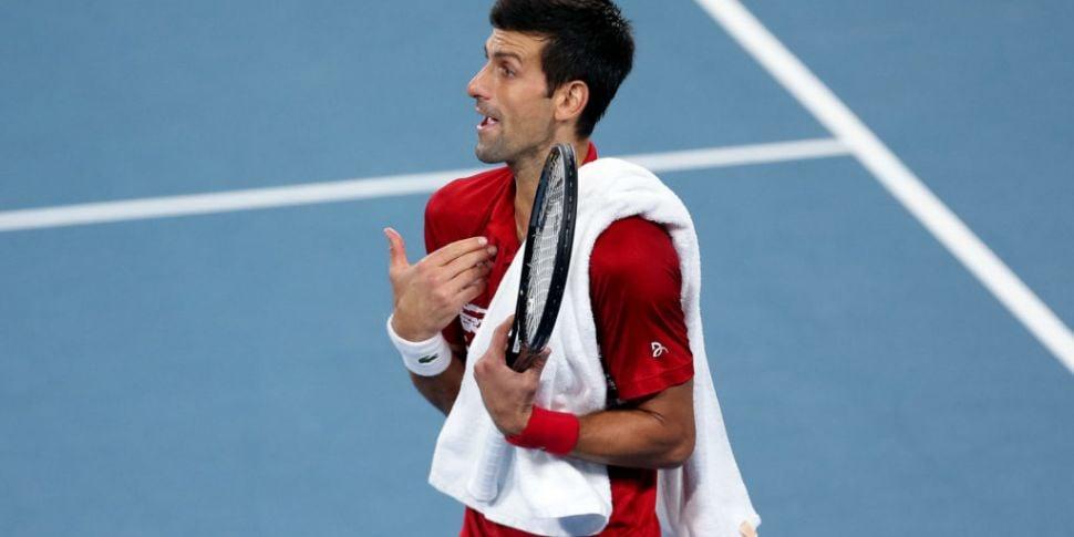 'Sad' Djokovic pledges to 'evo...