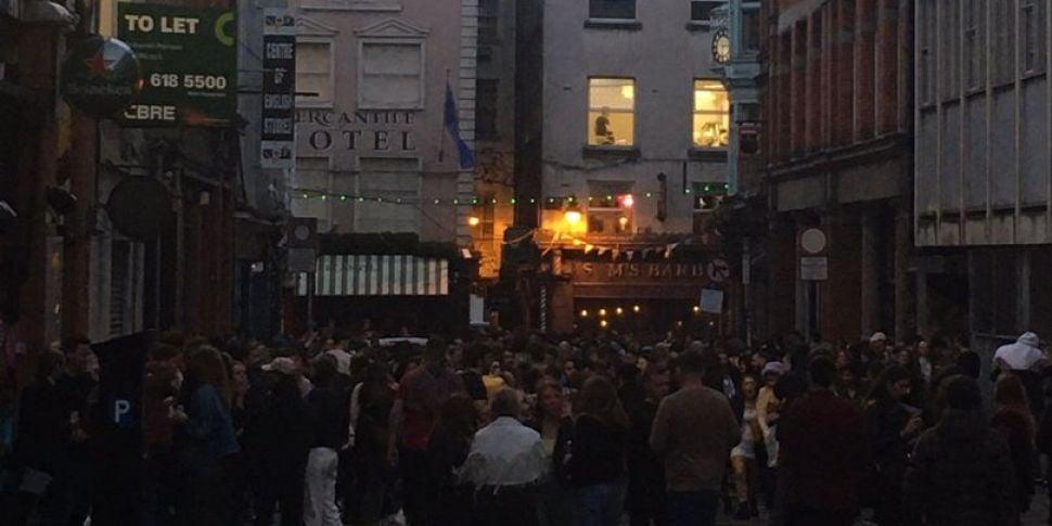 Drinking Drama On Dame Street