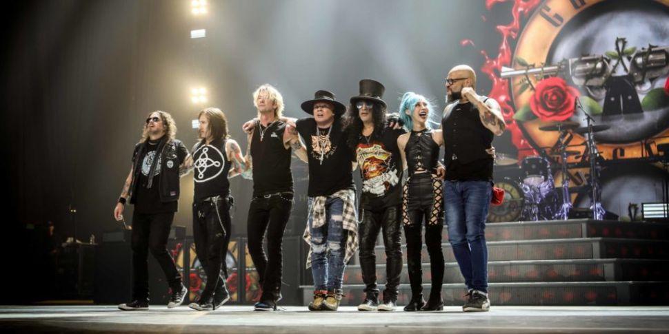 Guns N' Roses Reschedule Marla...