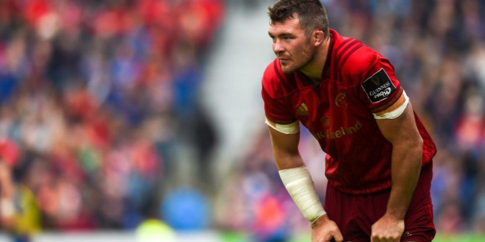 Peter O'Mahony cleared to play...