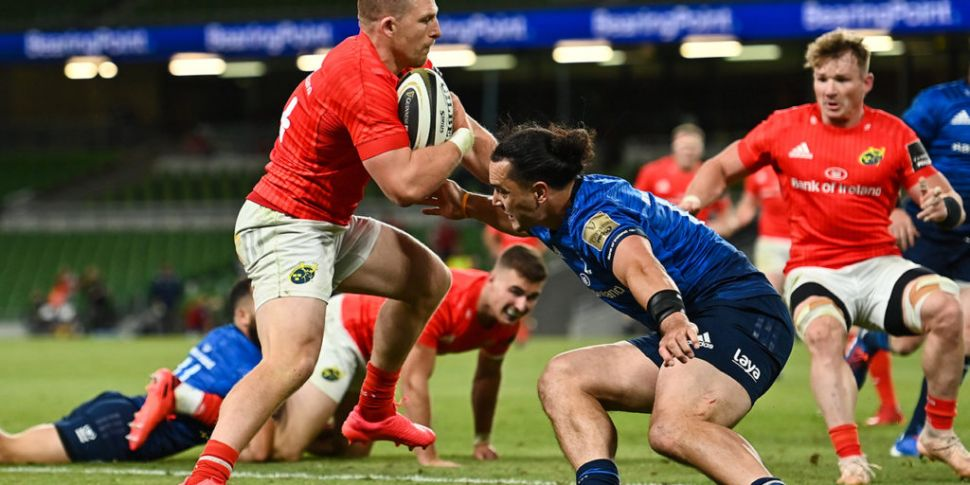Leinster and Munster name team...