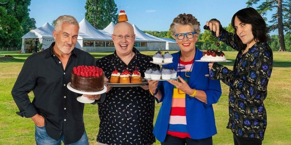 A Great British Bake Off Cookb...