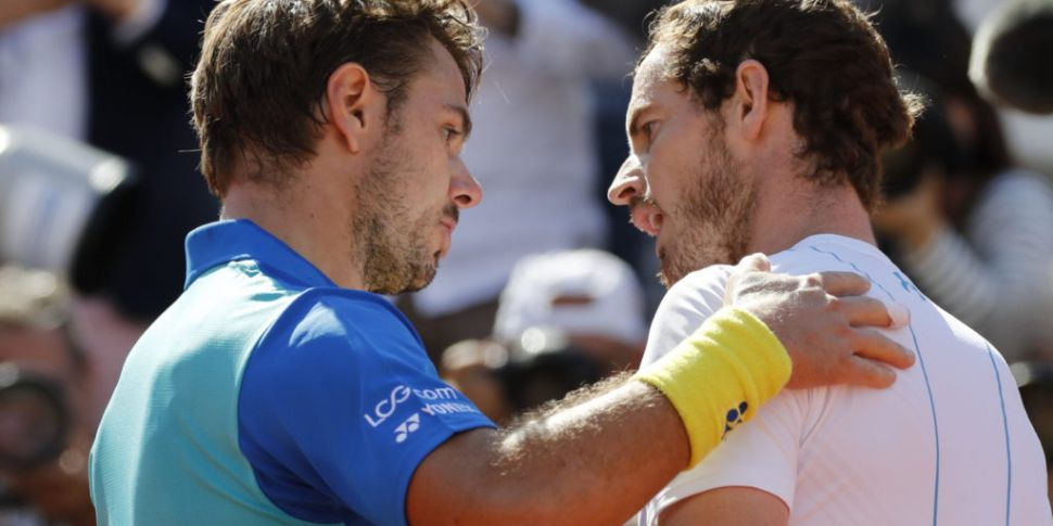Murray and Wawrinka reunited i...