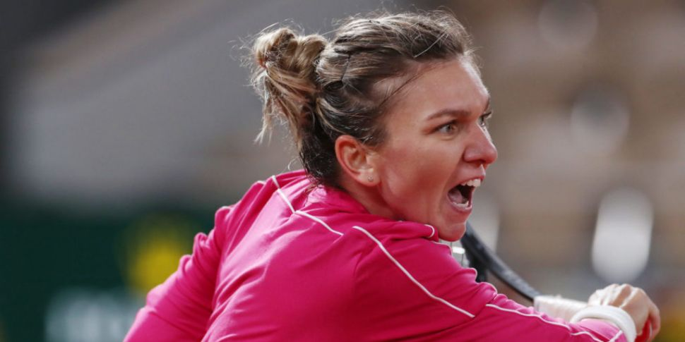 Ruthless Simona Halep powers i...