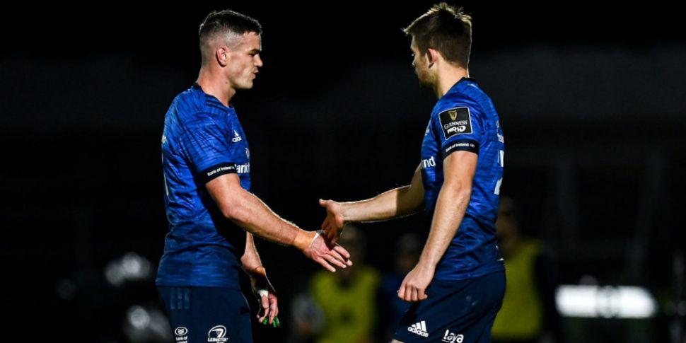 Leinster confirm Sexton suffer...