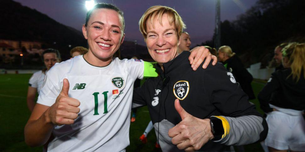 Ireland captain Katie McCabe s...