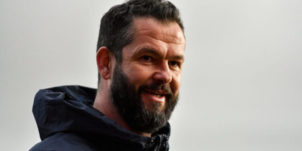 Ireland coach Andy Farrell hop...
