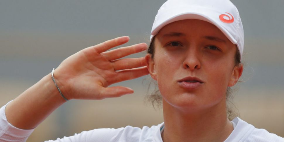 Reaching French Open final is...