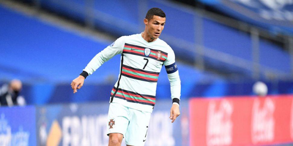 Cristiano Ronaldo tests positi...