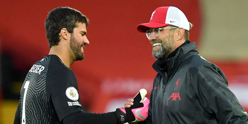 Klopp gives Alisson update as...