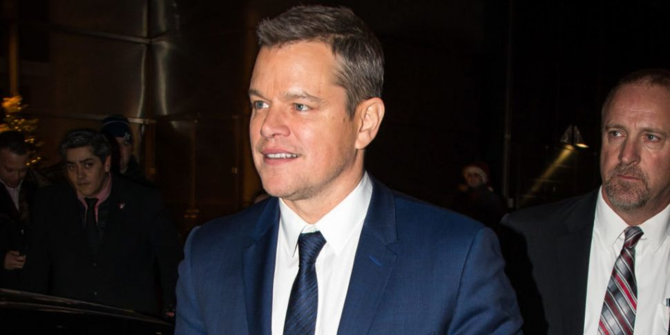 Matt Damon Reveals He Would Co...