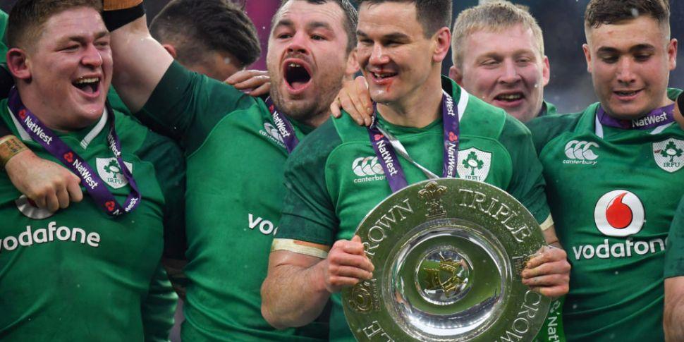 Sexton congratulates Healy on...