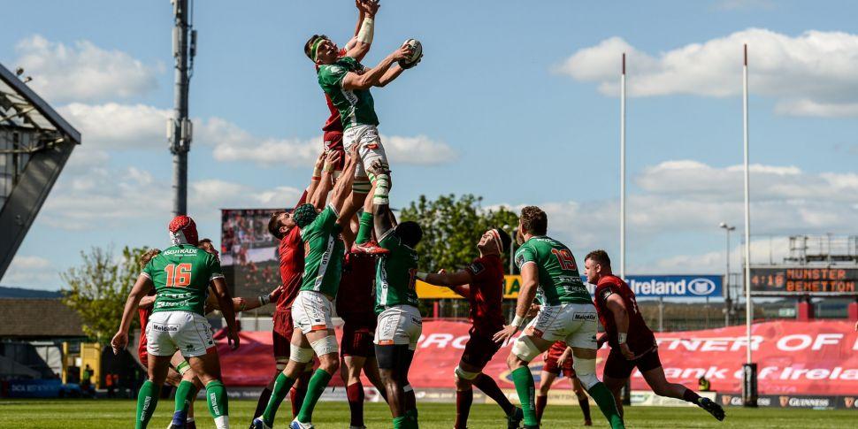 Munster's Guinness PRO14 game...