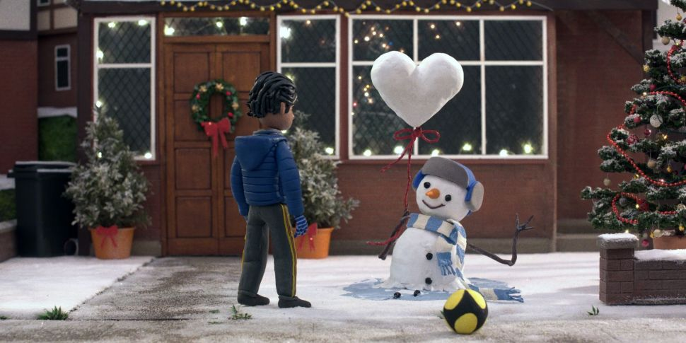 The John Lewis Christmas Ad Is...