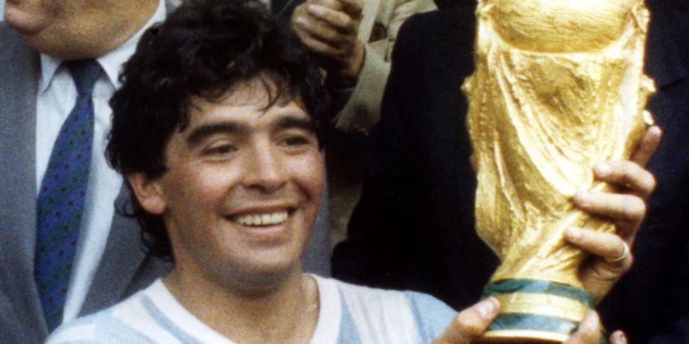 Diego Armando Maradona - dead...