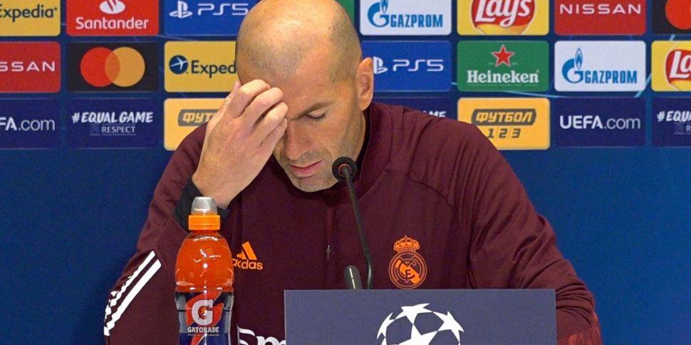 Zidane insists he won't resign...