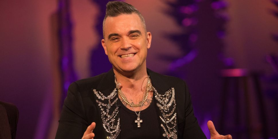 Robbie Williams Reveals He's F...