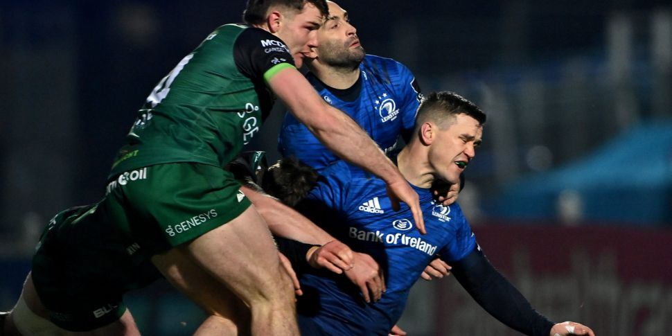 Sexton doubtful for Leinster's...
