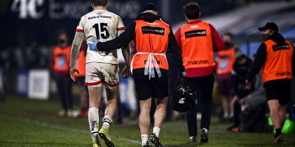 Stockdale suffers knee injury...