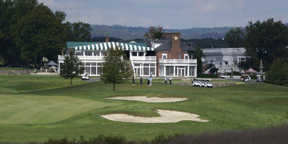 Donald Trump golf course strip...