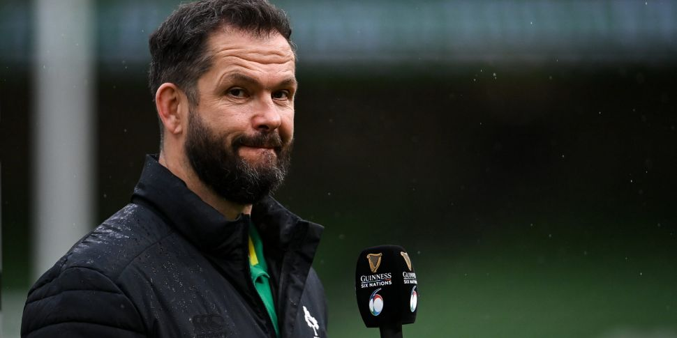 Andy Farrell 'concerned' by Ir...