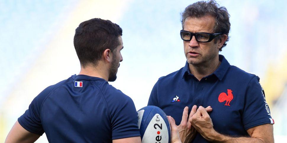 French rugby coach Fabien Galt...