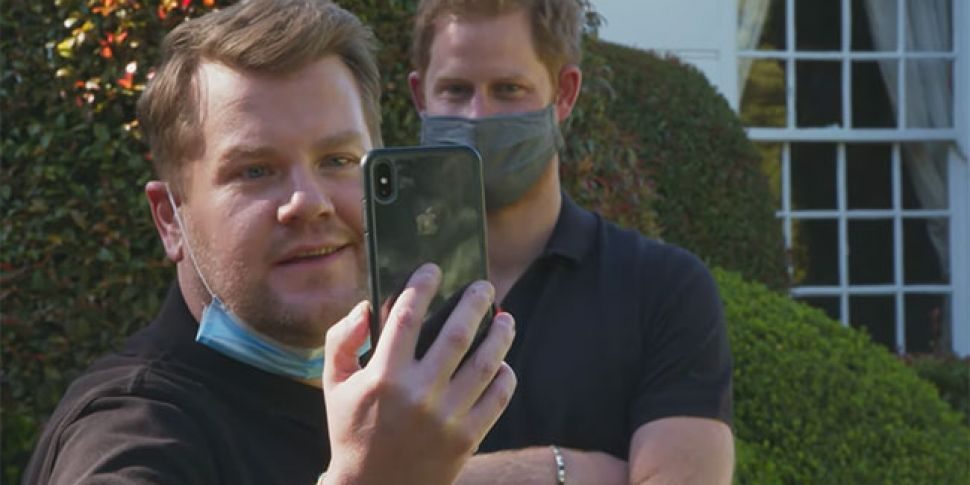 Prince Harry Reveals To James...