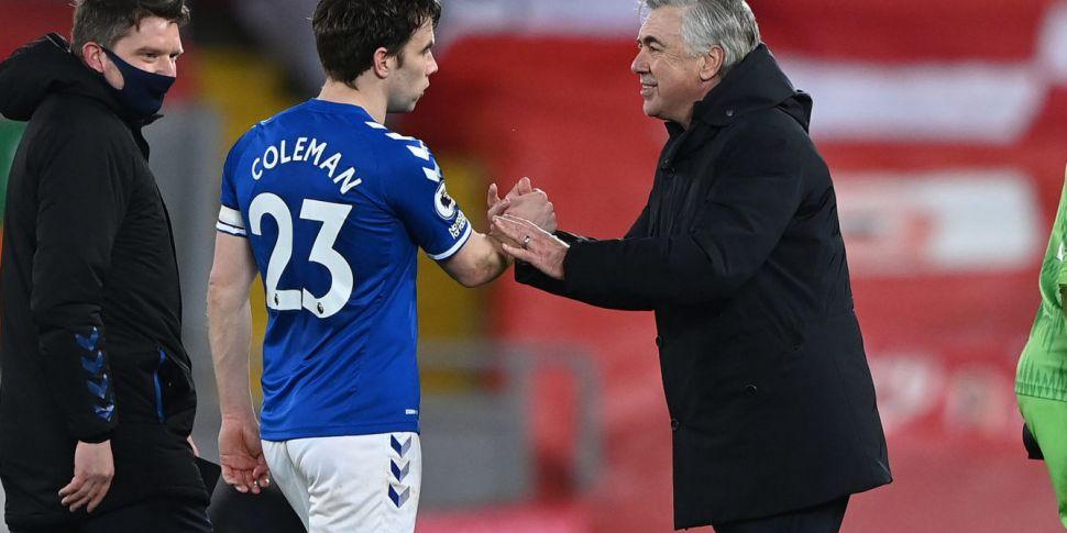 Everton boss Ancelotti gives v...