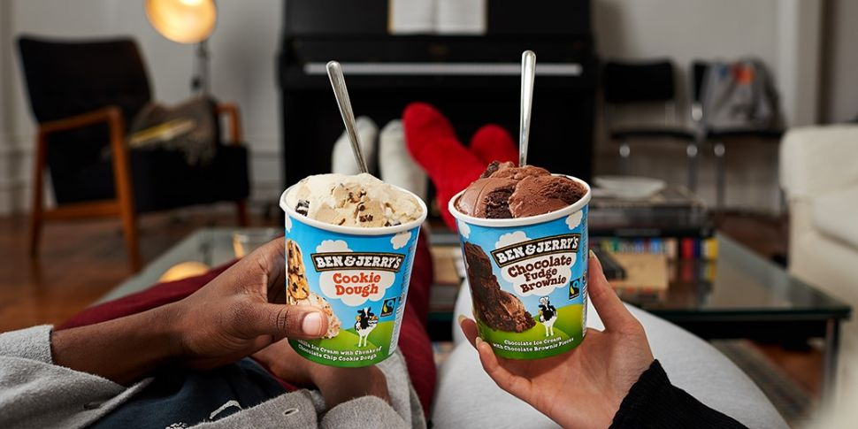You Can Now Order Ben & Jerry'...