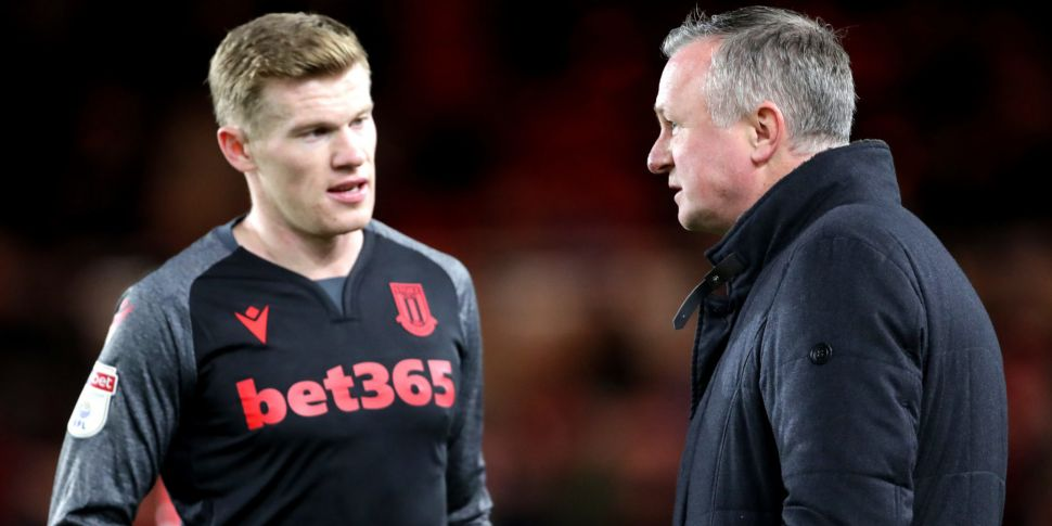Michael O'Neill claims James M...