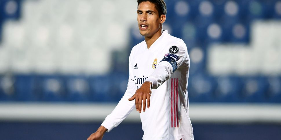 Varane OUT of Champions League...