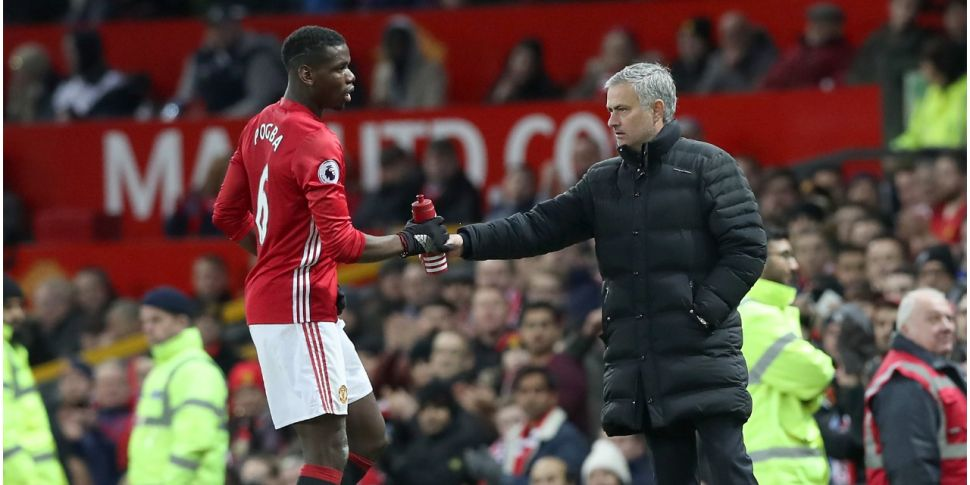 Pogba hits out at Mourinho's m...