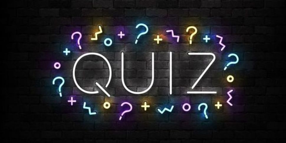 Today's Quiz Answers Had Us In...