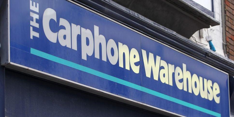 Carphone Warehouse Is Closing...